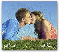 Puzzle corazon personalizado, retrato, fotografia, regalo, parejas, bonito