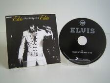 CD Elvis Presley - That's The Way It Is (2012 Sony Music EU)