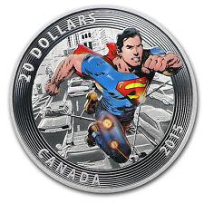 2015 Canada Silver Iconic Superman™ Comic Book Covers (#1) - SKU #90606