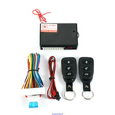 Universal Car Central Power Door Lock Remote Kit Keyless Entry Control System