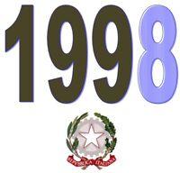 ITALIA Repubblica 1998 Singolo Annata Completa integri MNH ** Tutte le emissioni
