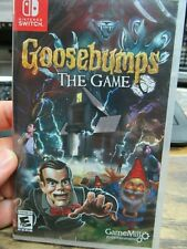 BRAND NEW & SEALED!! Goosebumps The Game (Nintendo Switch, 2018) FREE SHIPPING!!