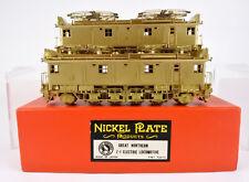 NICKEL PLATE HO SCALE BRASS GREAT NORTHERN Z-1 ELECTRIC POWERED DUMMY SET U/P