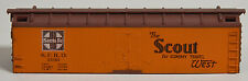 Roundhouse Reefer Body Shell - ATSF Scout & All The Way