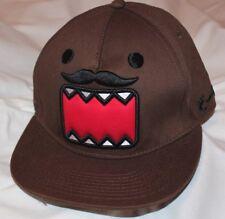 Domo Kun SnapBack Hat Cap Brown One Size