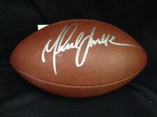 Marshall Faulk St Louis Rams NFL Autographed Signed Wilson Football COA