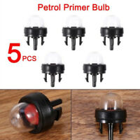 5PCS Petrol Snap in Primer Fuel Bulb Pump Kit For Ryobi Walbro Husqvarna Tools~
