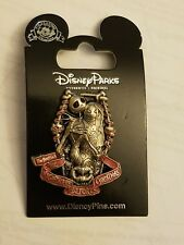 Disney Parks Nightmare Before Christmas Jack and Sally Coffin Shaped Pin
