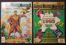 1992/93 Comics Values Monthly Magazine Special #2 w/ Poster #78 Lot of 2 Fn+ 6.5