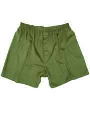 Camouflage Boxer Shorts Oliv Gr M US Army Unterhose Unterwäsche