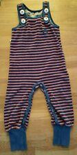 Albababy Stripe Terry Dungarees Size 92 2y Happy Crawlers Scandi Like Duns / Max