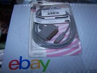 Viintage Macintosh to SCSI II Cable DB25M / micro50M C2A-6 - 6 foot long