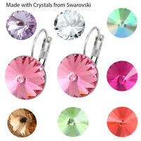 Bella Fashion Earrings Lever Back Made with SWAROVSKI® Crystals