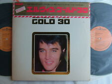ELVIS PRESLEY GOLD 30 / WITH CAP OBI