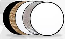 5 IN 1 Reflectores Plegable 110cm de diámetro Para Samsung NX2000 NX1000