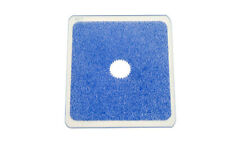 Kood P Size Rectangle Filter 84mm Blue Centre Spot Clear fits Cokin P