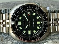 SEIKO 6105 CAPT WILLARD APOCALYPSE MOD DIVER TURTLE AUTOMATIC WATCH 6309-7040