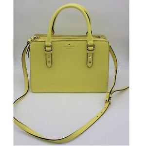 Kate Spade Purse Mulberry Street Lise in Limelight Color NWOT MSRP $359