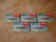 Job Lot *RARE* 5 x EAGLE Model Kits - Battle of the River Plate HMS Ajax 1/1200