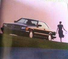 1991 Mercedes Benz 560SEC C126 560 SEL 420SEL Dealer Sales Brochure 560SEL W126
