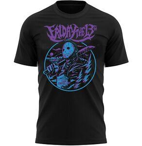 Friday 13th Halloween T-Shirt Adults Novelty Shirt Top Gift For Men & Women