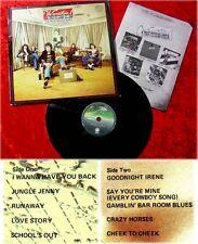 LP Sensational Alex Harvey Band Penthouse Tapes