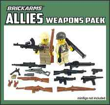 BRICKARMS WWII ALLIES Pack 2016 for Lego Minifigures Limited Edition Weapons NEW