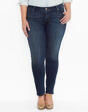 LEVI'S Women's Plus Size Mid Rise Skinny Jeans SZ 22W NWT