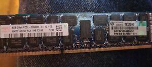 4 500205-071 HP 8GB 2RX4 PC3-10600R ECC REG DDR3 MEMORY 500662-B21 501536-001