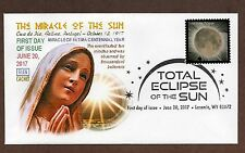 SOLAR ECLISPE STAMP~ GLEN CACHET #2  FIRST DAY COVER ~ PICTORIAL CANCEL