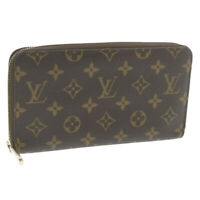 LOUIS VUITTON Monogram Zippy Organizer Long Wallet M62581 LV Auth 20244