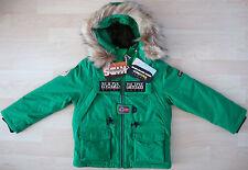 NAPAPIJRI K Skidoo Open Veste Enfants Veste Veste D'hiver Taille 116-120 neuf avec étiquette