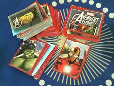 choose sticker PANINI MARVEL AVENGERS INFINITY WAR RARE SHINNY /& X STICKERS
