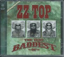 ZZ TOP  The Very Baddest of 2 CD Neuf sous cellophane