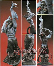 DEVILMAN & Series :None Scale Bust Devilman & Base Unpainted Resin Model Kit