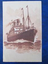 Twin Screw Steamer Cleveland, United American Lines 1924 in deutsch von Irland