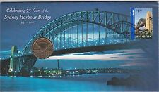 2007 Australia PNC $1 UNC Coin, 75 years of the Sydney Harbour Bridge RAM