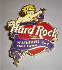 Hard Rock Cafe Cape Town Valentine'S Day 2000 Pin Le 300