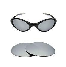 NUOVO Polarizzata Personalizzato Argento Ghiaccio Lente Per Oakley Eye Giacca Occhiali da sole