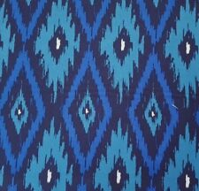 Poppy BTY Maude Asbury Blend Fabrics Tonal Blue Abstract Ikat