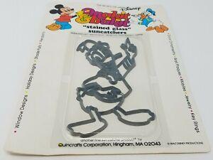 Vintage Makit & Monde De Disney Donald Duck Vitrail Attrape Soleil Cadre Kit