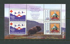 Greenland 1993 #B18A scouting Red Cross sheet Mnh E134