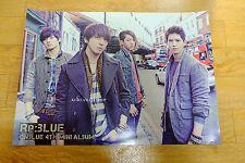 CNBLUE 4th Mini Album - Re:BLUE *Official POSTER* KPOP