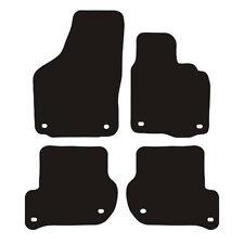 Volkswagen Jetta (2006 - 2010) Tailored Black 3mm Rubber Car Floor Mats Set of 4
