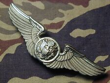 Very Rare J Balme FRANCE Hallmarked USAF Air Crew wings badge Air Force Insignia