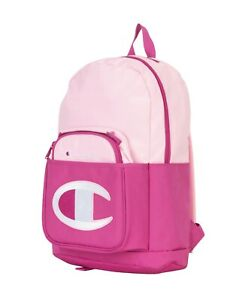 Champion Youth Supercize Backpack With Lunch Kit Attached Pink Combo SHIPS FREE!