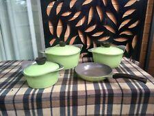 Modern Life Germany 4 Piece Cook Set inc. Fry Pan & 3 Pots + Lids Very European