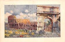 Cartolina - Postcard - Illustrata -  Roma - Arco di Tito - 1925 - EVR - VG