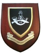 10th Princess Marys Own Gurkha Rifles Wall Plaque uk hand made for MOD