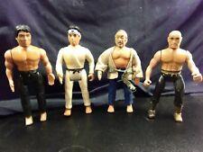 1986 Remco Karate Kid Lot Daniel Mr Miyagi Shaolin Monk Chozen Nice Condition